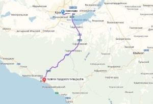 маршрут эвакуатора в краснодаре: п. Джубга - г. Краснодар, буксир 24